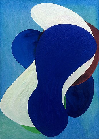 "Gary Paller 41 2014 acrylic on canvas 39"" x 28"" (100 x 70cm)"